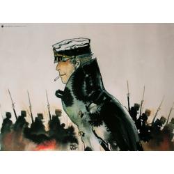 Poster affiche offset Corto Maltese, La jeunesse (30x24cm)
