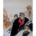 Poster offset Corto Maltese, Sibérie (18x24cm)