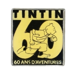 Pin's de Tintin 60 ans d'aventures Corner (Nº95)