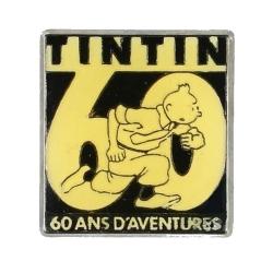 Pin's Tintin 60 ans d'aventures Corner (Nº95)