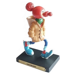 Collectible Figurine Plastoy Gaston Lagaffe with his Red Nose Hat Nº6 (2004)