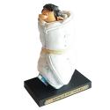 Figura de colección Plastoy Tomás el Gafe y su colchón anti hielo Nº8 (2004)