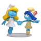 Collectible figurine Puppy Smurfette and Smurf Blossom 28cm (2018)