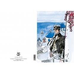 Carpeta dossier A4 Corto Maltés Grèce, 1993 (15100101)