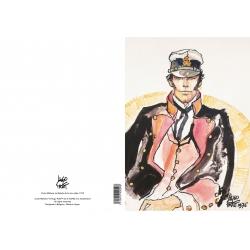 Carpeta dossier A4 Corto Maltés La balade de la mer salée, 1976 (15100104)