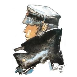 Carpeta dossier A4 Corto Maltés L'Auteur et la bande dessinée, 1980 (15100105)