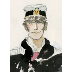 Carpeta dossier A4 Corto Maltés Portrait, 1983 (15100106)