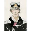 A4 Plastic Folder Corto Maltese Portrait, 1983 (15100106)