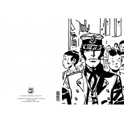 Carpeta dossier A4 Corto Maltés Sibérie, 1974 (15100107)