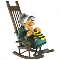 Collectible Figurine Fariboles: Ma Dalton knitting Lucky Luke - MADAL (2012)