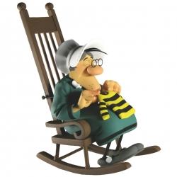 Figura de colección Fariboles: Ma Dalton tricotando Lucky Luke - MADAL (2012)