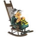 Figura de colección Fariboles Lucky Luke, Ma Dalton tricotando MADAL (2012)