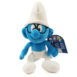 Soft Cuddly Toy Puppy The Smurfs: The Brainy Smurf 25cm (755289)