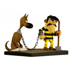 Collectible figurine Fariboles Lucky Luke, Joe Dalton and Rantanplan JOE (2015)