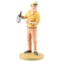 Collection figure Tintin Allan provoke Haddock 13cm Moulinsart Nº21 (2012)