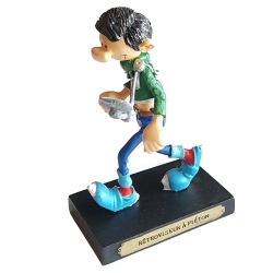 Figurine de collection Plastoy Gaston Lagaffe Rétroviseur à piéton Nº2 (2004)