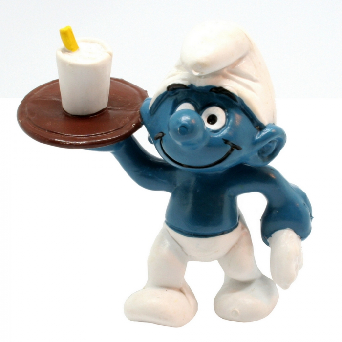 The Smurfs Schleich® Figure - Server Smurf (20162)