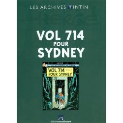The archives Tintin Atlas: Vol 714 pour Sydney, Moulinsart, Hergé FR (2011)