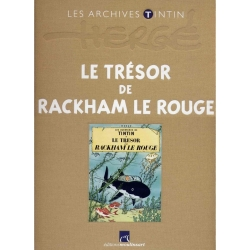Les archives Tintin Atlas: Le Trésor de Rackham Le Rouge, Moulinsart (2010)