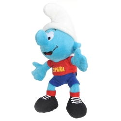 Soft Cuddly Toy Puppy The Smurfs: The Smurf Footballer España 20cm (755300)