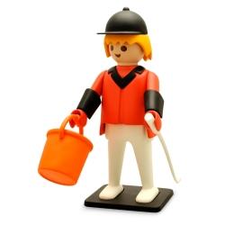 Figurine de collection Plastoy Playmobil Le Cavalier de concours 00264 (2018)