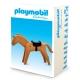 Figura de colección Plastoy Playmobil el caballo marrón 00261 (2017)