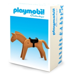 Collectible Figure Plastoy Playmobil the brown horse 00261 (2017)