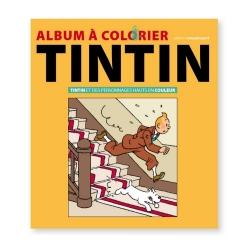 Livre album à colorier Tintin et les personnages en couleur 24367 (2018)