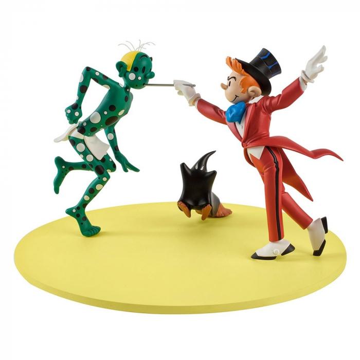 Collectible figure Figures et Vous Spirou and Fantasio Cam et Léon CAF04P (2018)