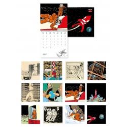 2019 Wall Calendar Tintin Explorers on the Moon 30x30cm (24398)