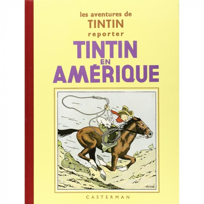Album de Tintin: Tintin au Congo Edition fac-similé Noir & Blanc (Nº2)