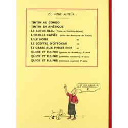 Tintin album: Les cigares du pharaon Edition fac-similé Black & White (Nº4)