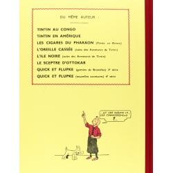 Tintin album: Le lotus bleu Edition fac-similé Black & White (Nº5)