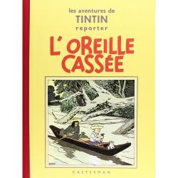 Album de Tintin: L'oreille cassée Edition fac-similé Noir & Blanc (Nº6)