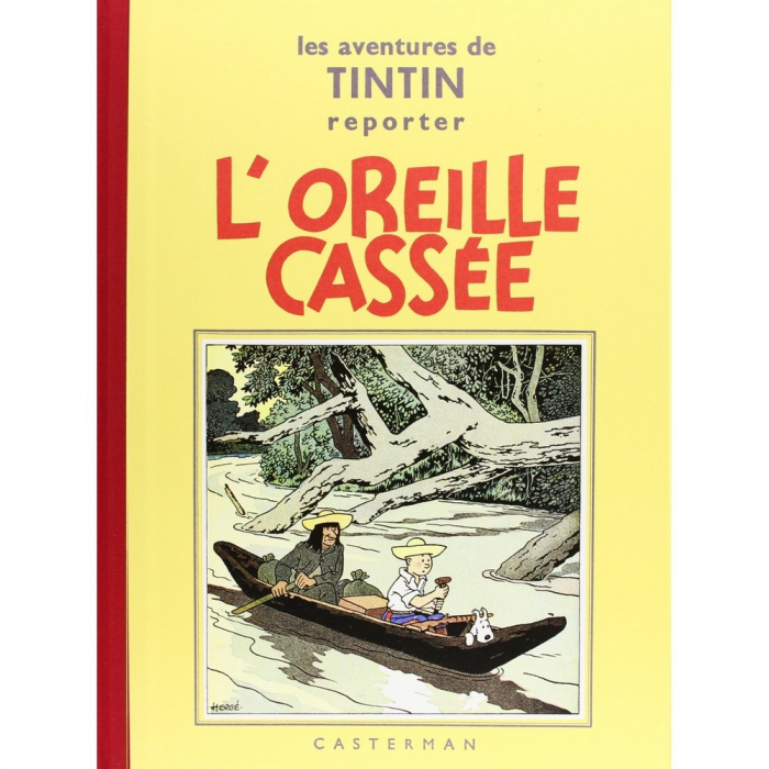 Tintin album: L'oreille cassée Edition fac-similé Black & White (Nº6)