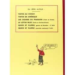 Tintin album: L'oreille cassée Edition fac-similé Black & White (Nº6)