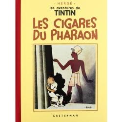 Album de Tintin: Les cigares du pharaon Edition fac-similé Noir & Blanc (Nº4)