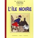 Tintin album: L'île noire Edition fac-similé Black & White (Nº7)