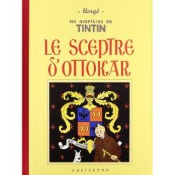 Album de Tintin: Le sceptre d'Ottokar Edition fac-similé Noir & Blanc (Nº8)