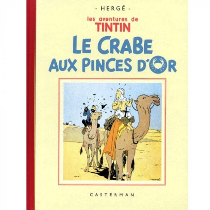 Tintin album: Le crabe aux pinces d'or Edition fac-similé Black & White (Nº9)