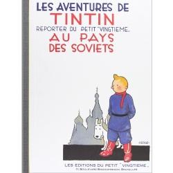 Album de Tintin au pays des soviets Edition fac-similé Noir & Blanc (Nº1)