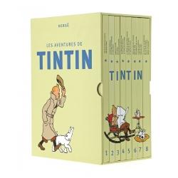 Cofre colección integral de los 24 álbumes de las aventuras de Tintín (2017)