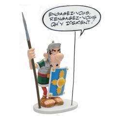 Figurine Plastoy Astérix, Le Légionnaire Romain Engagez-vous ! 00129 (2018)