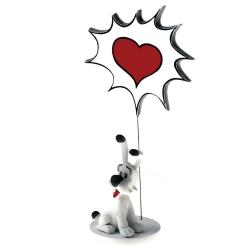 Figurine de collection Plastoy Astérix, Idéfix Love 00131 (2018)