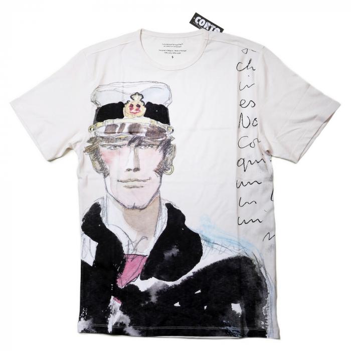 T-shirt vintage-style Corto Maltese La balade de la mer salée, 1976 (2018)
