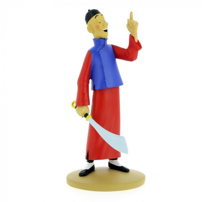 Collectible figurine Tintin Didi Jen-Ghié is crazy Moulinsart 42218 (2018)