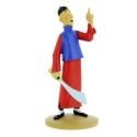 Figura de colección Tintín Didi Jen-Ghié está loco Moulinsart 42218 (2018)