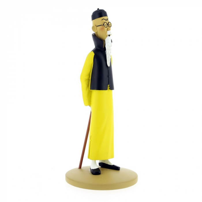Collectible figurine Tintin Mr Wang Jen-Ghié Moulinsart 42219 (2018)