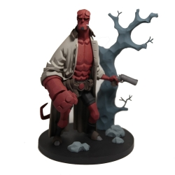 Figurine de collection en résine Fariboles Hellboy, Mignola HEL3 1/8 (2018)