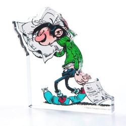 Figura en acrílico Art To Print Tomás el Gafe con su almohada (10cm)